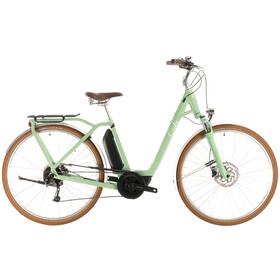 Cube Ella Ride Hybrid 400 Easy Entry, green/white